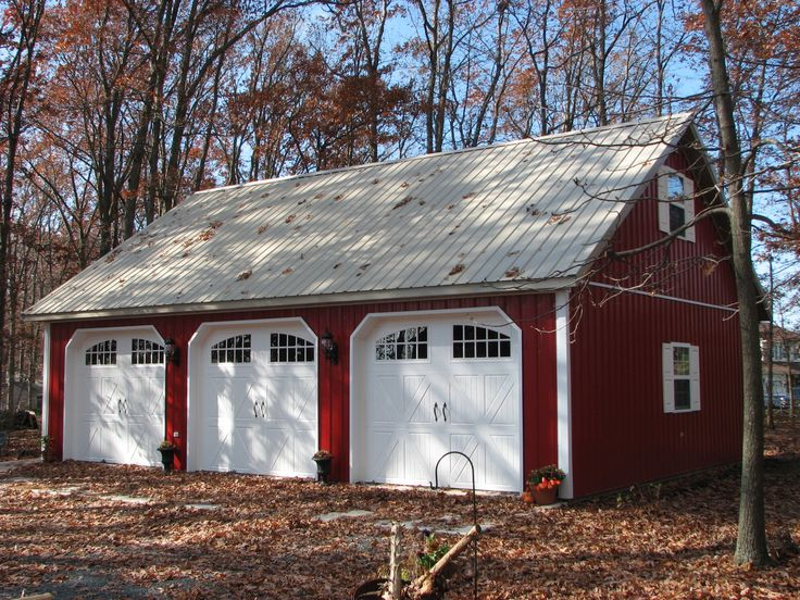 Best 25 pole buildings ideas on pinterest pole building for 4 car pole barn