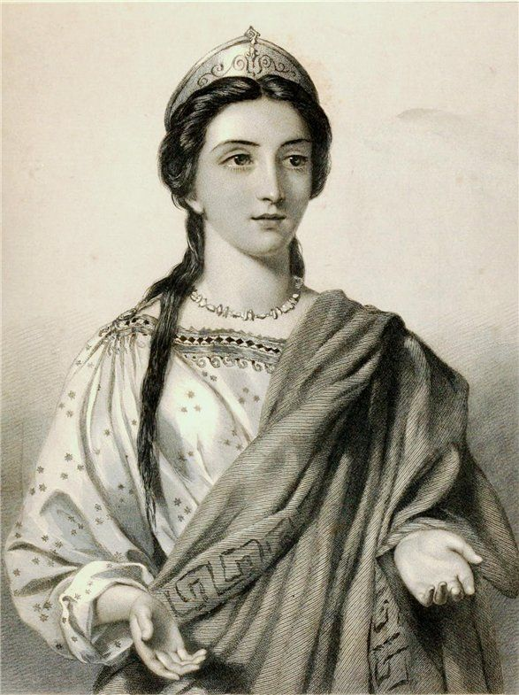 "Порция, жена Брута (""Юлий Цезарь"")"