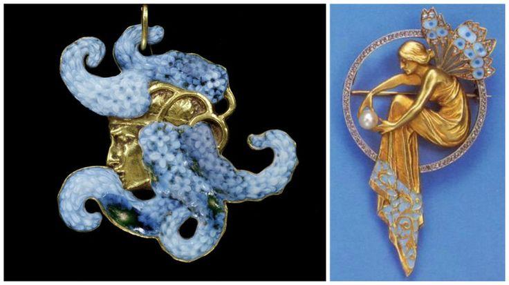Рене Лалик - ювелирное и стекольное искусство гения своего времени