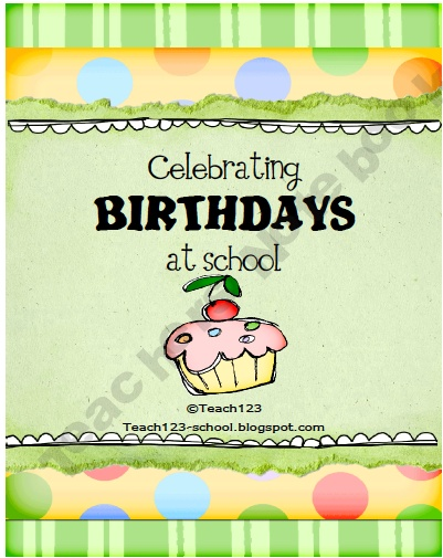 FREE!   Are you looking for a different way to celebrate birthdays? How about replacing your Star Student activities with Birthday Star fun?   This packet includes:  Birthday Star Book cover  Birthday Star parent note  Birthday Star book pages - 4 pages to choose from  There is also a bonus birthday graph included, t