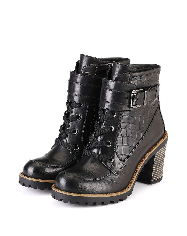 Claudia Lace Boot – Genkek Shoes
