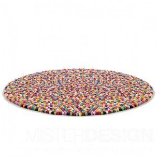 Pinocchio Karpet Multi Colour Bolletjeskleed - Hay Pinocchio Karpet Multi Colour Bolletjeskleed - Hay