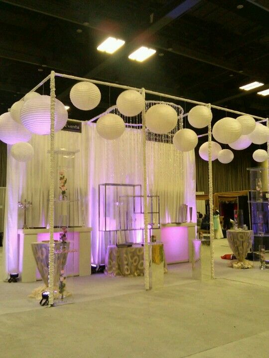 Bridal Expo Stands : Wedding fair booth richfield flowers and events