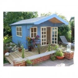 Shed houses house kits and sheds on pinterest for Shed guest house kit