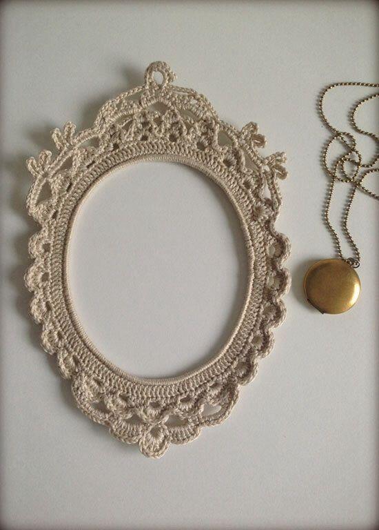 Crochet frame