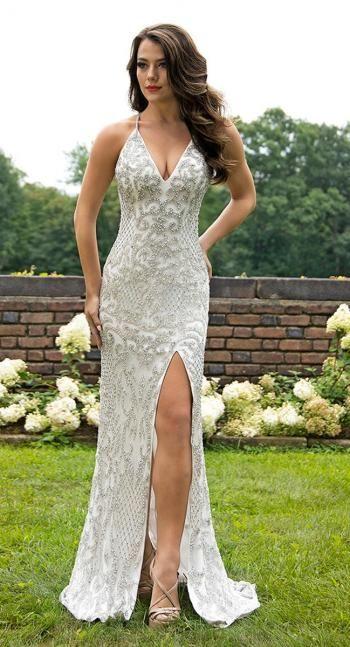 60f5a160de9 Primavera Couture Long Dress 3214
