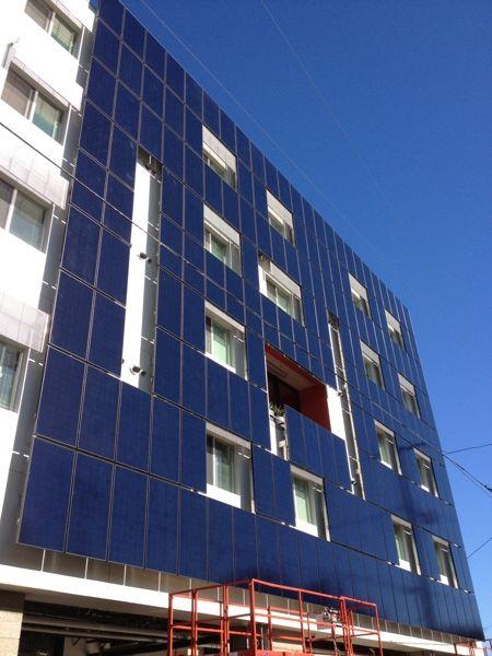 28th Street Apartments Bipv Facade By Daniel Dus Via