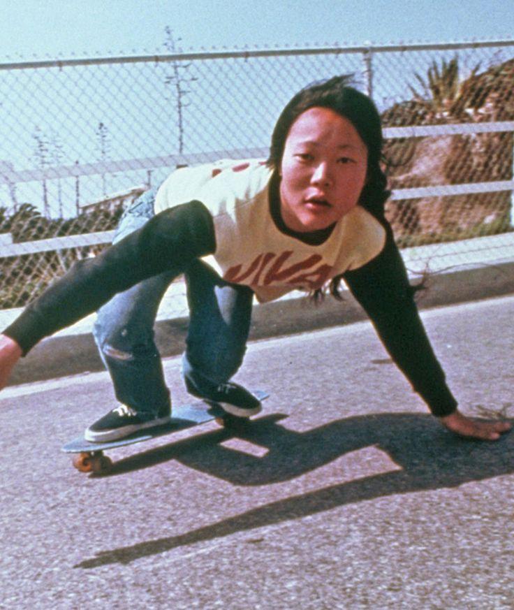 Peggy Oki was the the only female member of the legendary Z-Boys skate crew.