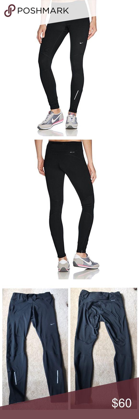 Nike DriFit Running Tights DriFIT® fabric to wick sweat