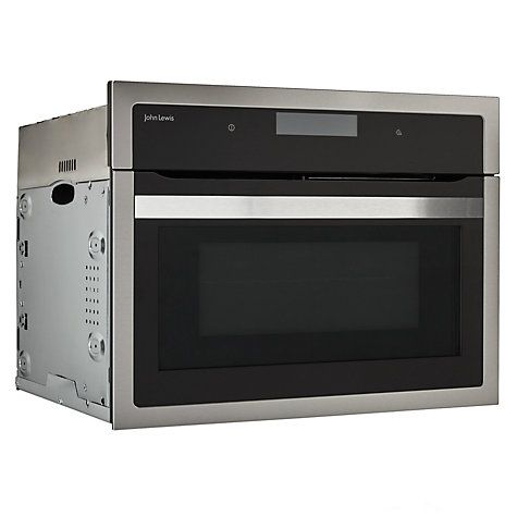 buy john lewis builtin combination microwave steel from our microwave ovens range at john lewis