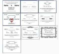 Resultado de imagem para convite de casamento editavel word