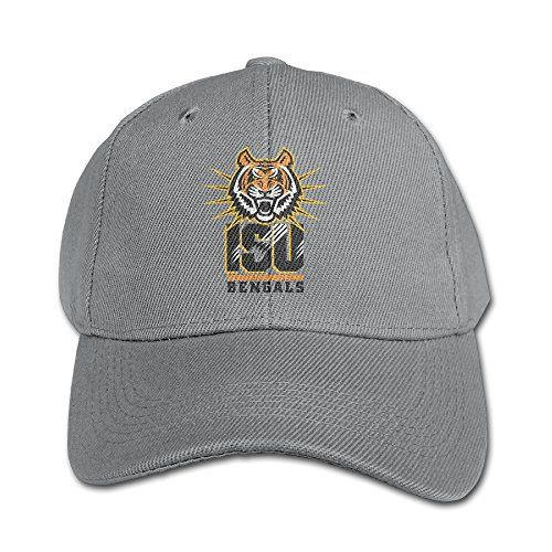 WG Custom Personalized Idaho State University ISU Bengals Dancing Cap Hat Ash