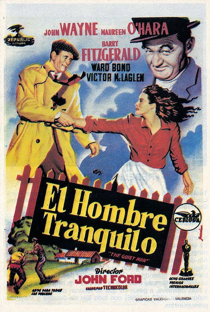 El hombre tranquilo (1952) EEUU. Dir: John Ford. Comedia. Romance. Vida rural. Deporte - DVD CINE 2395