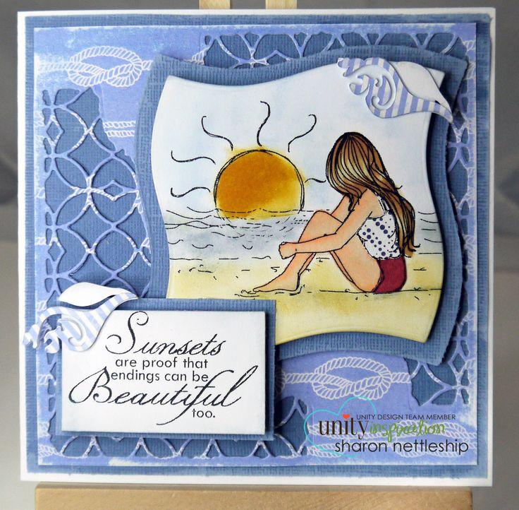 Unity stamp set - Sunset Promise