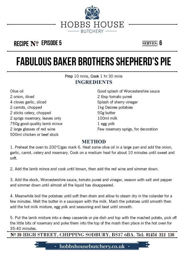 The Fabulous Baker Brothers: Shepherd's Pie - Hobbs House Bakery - Episode 5