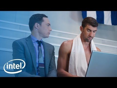 The Pool: Jim Parsons + Michael Phelps in new commercial