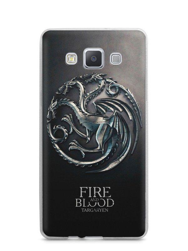 Capa Capinha Samsung A7 2015 Game Of Thrones Targaryen - SmartCases - Acessórios para celulares e tablets :)