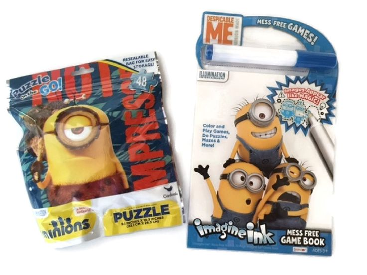 Minions Game Bundle Puzzle Game Imagine Ink Mess Free Activities