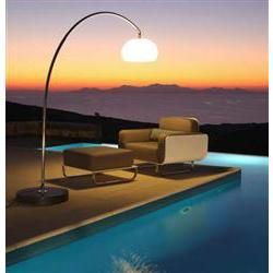 Royal Botania 60T, luxury outdoor floor light.