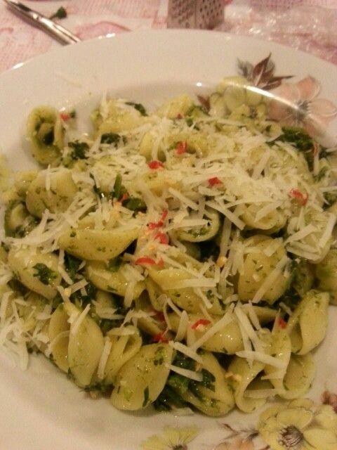 Orecchiette broccoli e pecorino