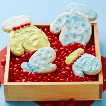 "Buzz Cafe Butter Cookie Cutouts - ""We use this recipe year-round for all of the holidays,"" says Laura Maychruk, co-owner of Buzz Cafe in Oak Park, Illinois (10 miles west of Chicago's Loop). ""For Christmas, we make snowflakes and Christmas trees. The cookies are delicious even without the icing."""