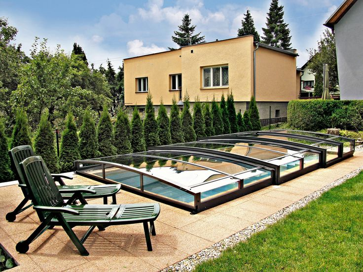 Pool enclosure with style? That's VIVA by Alukov a.s.