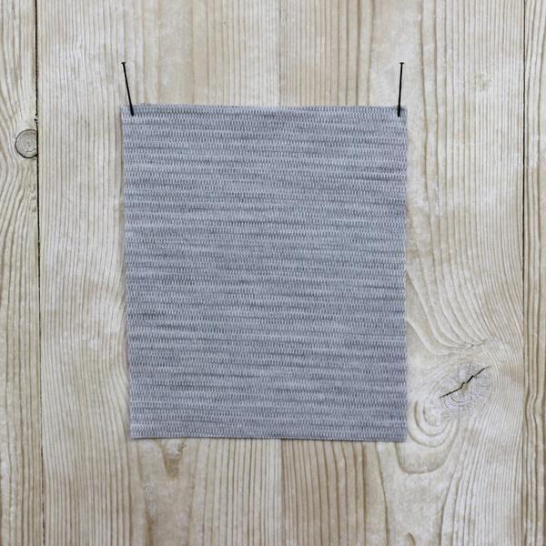 The Fabric Store Merino Jersey Interlock - Grey Marle Birdseye