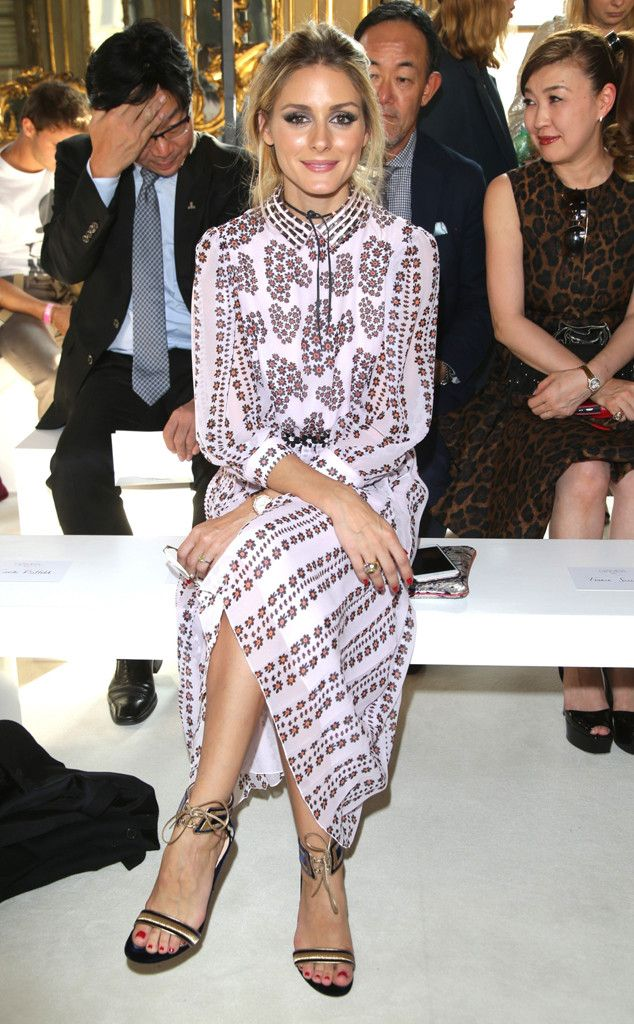 Olivia Palermo from The Big Picture: Today's Hot Pics  The fashionista sits front row at the Giambattista Valli show during Milan Fashion Week.