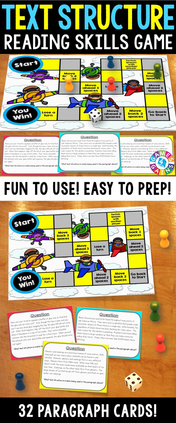best ideas about cause and effect paragraph text structures activity text structures reading game