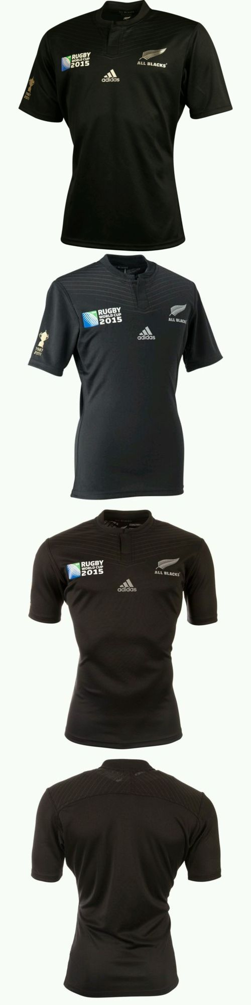 Rugby 21563: Bnwt New Zealand All Blacks Rwc 2015 Replica Rugby Jersey Size 2Xlarge BUY IT NOW ONLY: $99.95