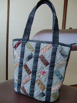 Beautiful quilt bag