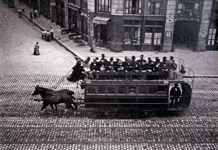 Le tramway hippomobile Louvre-Vincennes