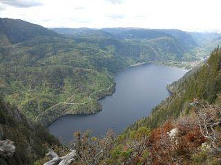 Toppturer og andre turer: Lårdalstigen - 25. mai 2013