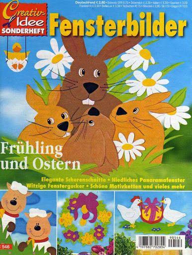 Fensterbilder - Frühling und Ostern - Comatus Coprinus - Picasa Webalbumok