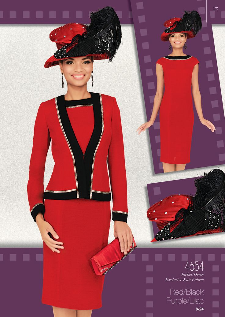 Church Suits Jacket / Dress Exclusive Knit Fabric, Colors