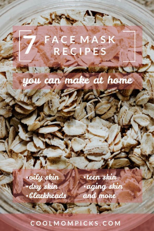 7 DIY face mask recipes for every skin care woe that ails you  #ails #Care #DIY …