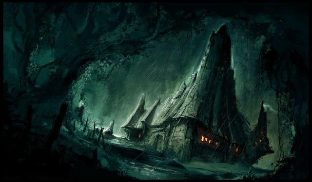 fantasy art landscapes - Google Search   FANTASY CASTLES ...