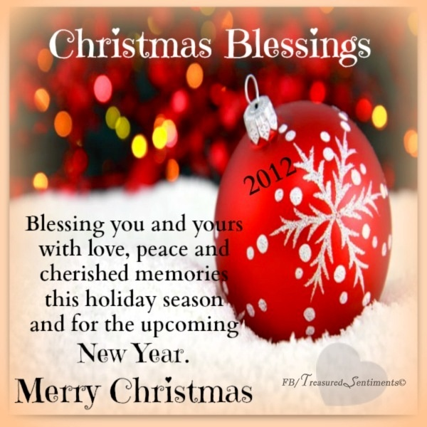Christmas Blessing Quotes. QuotesGram