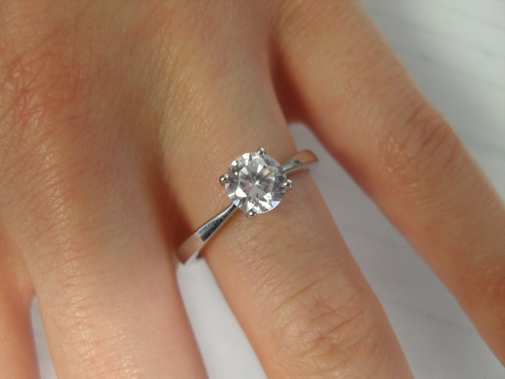 Solitaire Engagement Rings Amp Bands At Guaranteed Low Prices Wedding Round Diamond Engagement