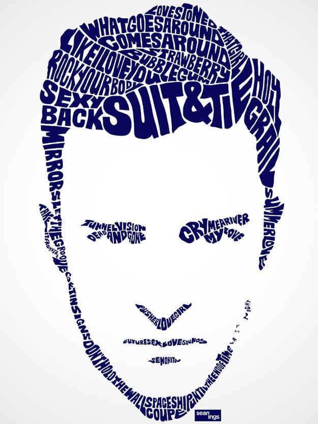 Justin Timberlake - image from lyrics - for you @pdawesome