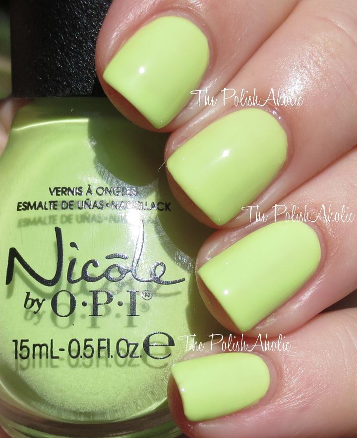 138 best Nicole by OPI images on Pinterest | Nicole by opi, Swatch ...