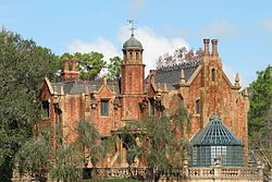 The Haunted Mansion at Disney World. I love the gothic style of this beautiful mansion created by Disney.