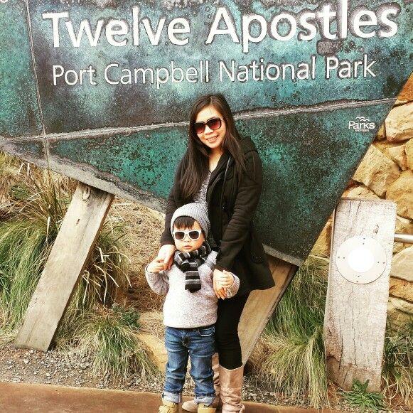 Mum and son 12 apostles