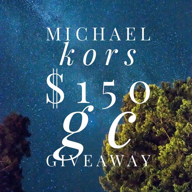 Michael kors 150 gift card giveaway michael kors kor