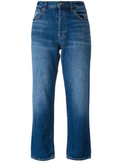 J BRAND straight cropped jeans. #jbrand #cloth #jeans