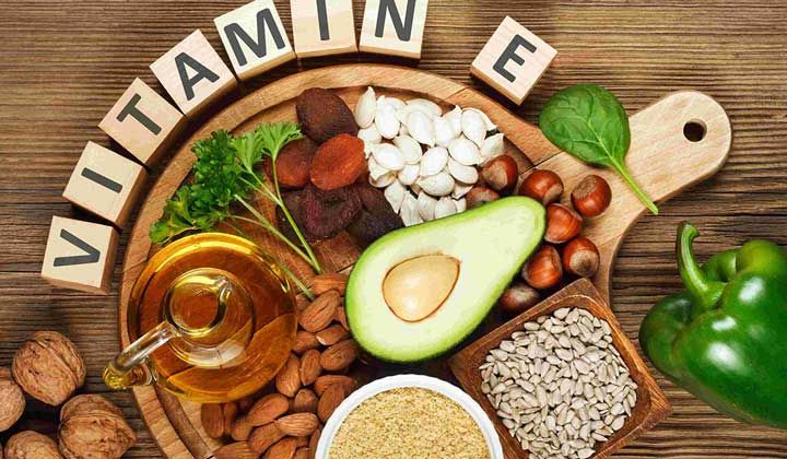 أين يوجد فيتامين هـ في الطعام Vitamins Face Wrinkles Vitamins For Hair Growth