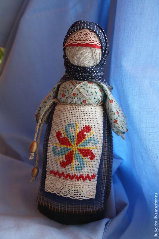 """Купить кукла-оберег """"Столбушка"""" - разноцветный, ладинец, богиня, кукла-оберег, народная кукла"""