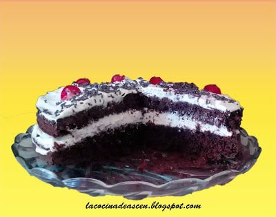 La cocina de Ascen: Tarta de chocolate y nata
