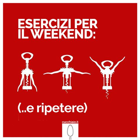 Esercizi per il weekend!