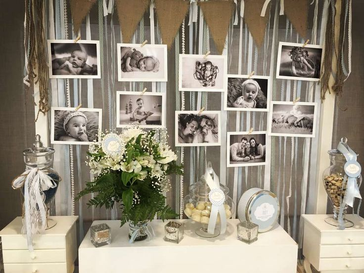 Shabby Chic Baptism Party Ideas | Photo 1 of 15
